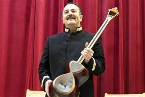 کیوان ساکت در دلیجان «ای ایران» را نواخت