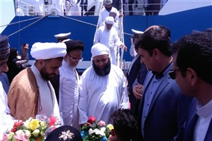 تاجران و فعالان اقتصادی عمان وارد شهرستان جاسک شدند