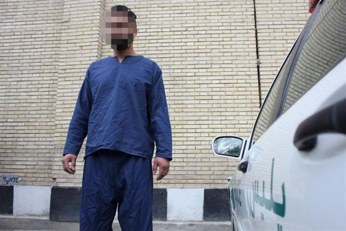 سارق سربازنما دستگیر شد