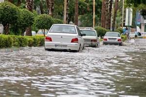 سیل و آبگرفتگی در 2  استان کشور/تخلیه آب از 4 واحد مسکونی