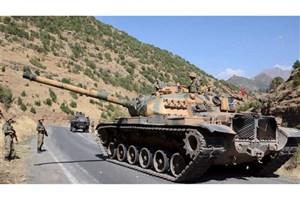 کشته شدن 9 شبه نظامی در حملات نیروهای ترکیه