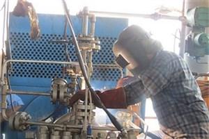 انجام تعمیرات اساسی پمپ اصلی انتقال نفت در سکوی AB مجتمع ابوذر