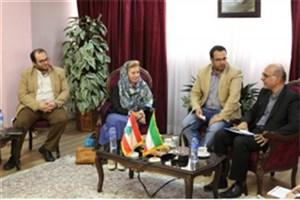 دیدار قائم مقام وزیر علوم در امور بین الملل با اعضای هیات رئیسه دانشگاه لبنان