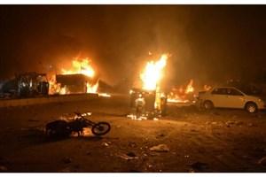 کشته شدن 15 نفر در انفجار انتحاری در پاکستان