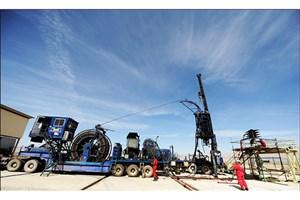 عملیات مانده یابی چاه ۴۴۸ میدان نفتی مارون با موفقیت انجام شد