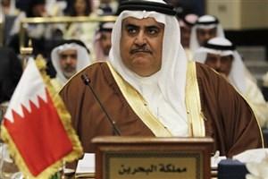 وزیر خارجه بحرین: هر که خطر ایران را نبیند کور است!