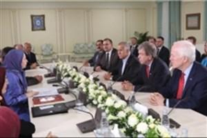 دیدار سه سناتور آمریکایی در آلبانی با سرکرده منافقین