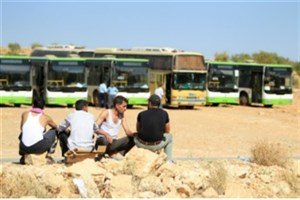 عملیات خروج تروریستها از منطقه عرسال لبنان آغاز شد