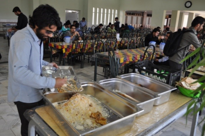 تغذیه دانشجویان