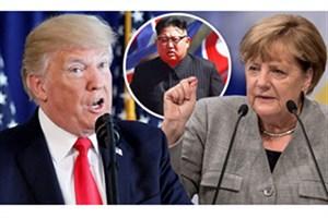 حمله لفظی ترامپ به مرکل: فقط درباره آلمان اظهارنظر کن!