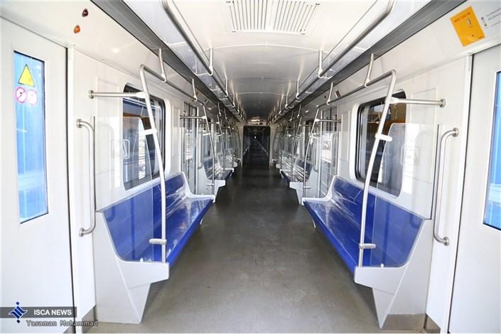 آیین بهره برداری از ٦٦ واگن مترو با حضور شهردار تهران