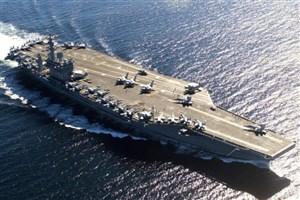ادعای مجدد آمریکا در خصوص نزدیک شدن پهپاد ایرانی به یک ناو هواپیمابر