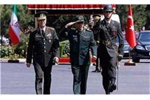 استقبال  رئیس ستاد ارتش ترکیه از سرلشکر باقری