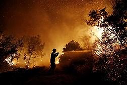 آتش سوزی در جنوب اروپا