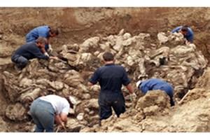 کشف گورهای جمعی در روستای میرزاولنگ افغانستان