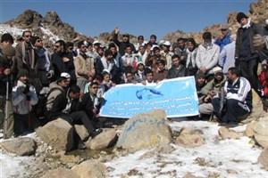 فتح قله سبلان توسط 300 نفر از اعضای انجمن های اسلامی دانش آموزان کشور