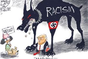 کایکاتور روز/ دفاع ترامپ از نژادپرستان