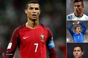 ۲۴ نامزد کسب عنوان بهترین فوتبالیست سال دنیا معرفی شدند + عکس