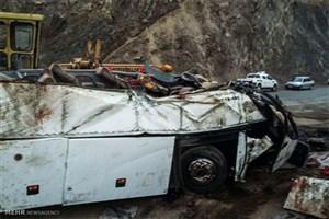 واژگونی ۲ دستگاه اتوبوس در جاده های کشور/ ۵۸ نفر کشته و مصدوم شدند