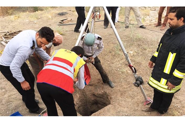مرگ کارگر در عمق چاه