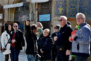 گردشگران آمریکایی همچنان  مهمان ایرانیان هستند