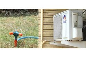 اجرای طرح پایلوت استفاده از آب کولر در آبیاری فضای سبز