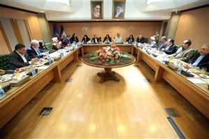 دیدار اعضای شورای شهر تهران با رئیس سازمان اسناد و کتابخانه ملی ایران
