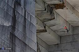 حکاکی رویای میکل آنژ روی سنگ مرمر