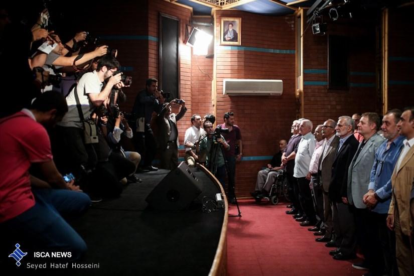 نخستین دوره ی اهدای نشان عکاس سال مطبوعاتی ایران