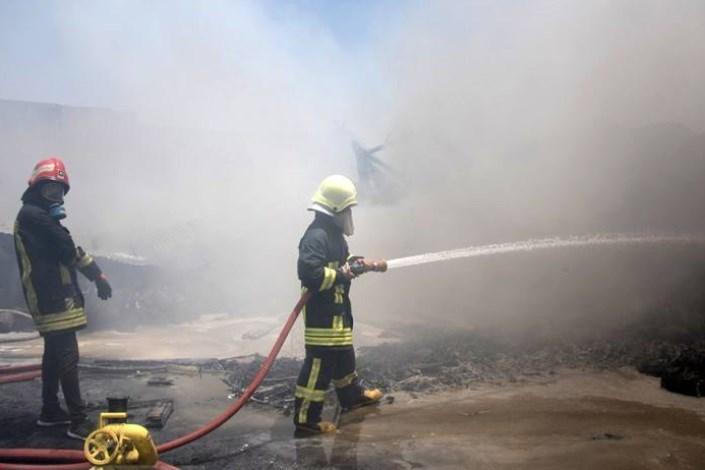 آتش سوزی آتش نشانی