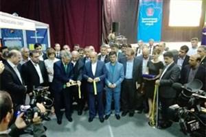 افتتاح نمایشگاه توانمندی های اقتصادی ایران با محوریت استان مازندران در ولگاگراد روسیه