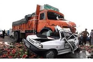 مرگ 15هزار و 932 نفر در حوادث رانندگی سال گذشته /کاهش مرگ و میر حوادث  با استفاده از کمربند ایمنی