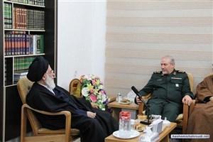 رئیس مجمع تشخیص مصلحت نظام با سردار صفوی دیدار کرد