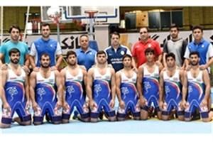 تیم کشتی فرنگی ایران نایب قهرمان جهان شد