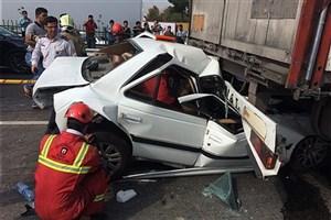 294 مورد مرگ ناشی از تصادفات رانندگی در بهار امسال