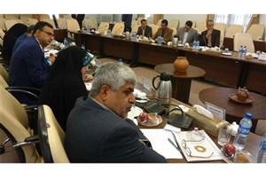 نشست مشترک فرمانداران استان و استاندار در زاهدان