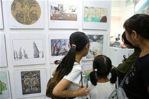 استقبال چینی ها از غرفه ایران در نمایشگاه پکن
