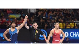 Karaj IAU Student Ranks 3rd at 2017 Wrestling World C'ships