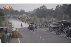 باران در جنوب آسیا 750 قربانی گرفت