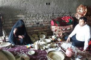 فروش صنایع دستی برای هنرمندان روستایی محرومیت زدا است