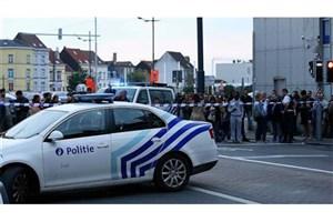 حمله با قمه به سربازان در  بلژیک