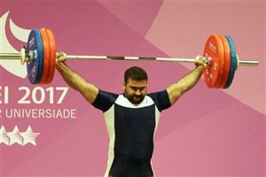 Kermanshah SAMA IAU Student Snatches Bronze in Weightlifting Taipei 2017