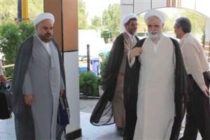 نماینده ولی فقیه در دانشگاه ها وارد نجف اشرف شد