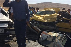 در تصادفات ۲۴ ساعت گذشته ۱۰  نفر کشته و یک  نفر مجروح شدند