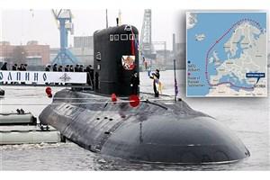 استقرار ۲ زیردریایی جدید روسیه در آبهای مدیترانه