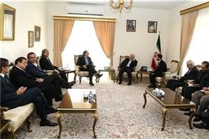 دیدار معاون رئیس مجلس سنای شیلی با ظریف