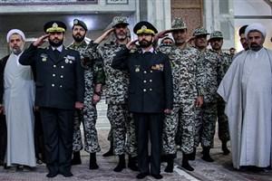 تجدید میثاق فرماندهان قرارگاه پدافند هوایی با آرمانهای امام(ره)