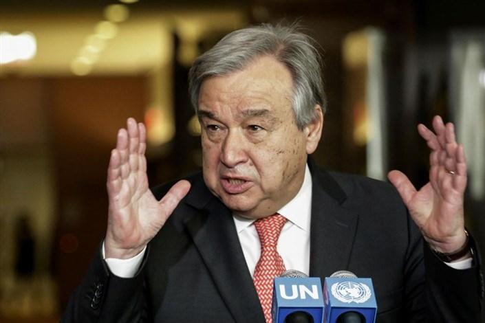 دبیرکل سازمان ملل متحد گوترش