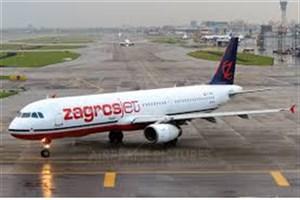 بازداشت با پابند و زندان هم مانع از تأخیر هواپیمایی زاگرس نشد