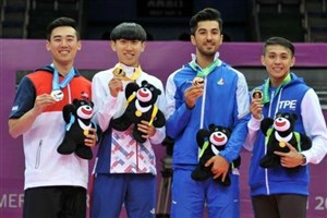 SAMA Kan IAU Student Grab Bronze at 29th Summer Universiade